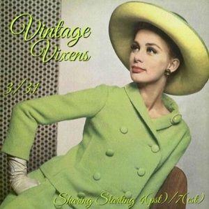 WEDNESDAY 3/31 Vintage Vixens Sign Up Sheet